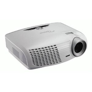 white Optoma HD20 Projector