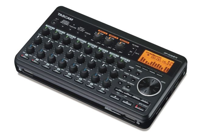 Tascam DP-008EX 8-Track Digital PortaStudio Multitrack Recorder Review